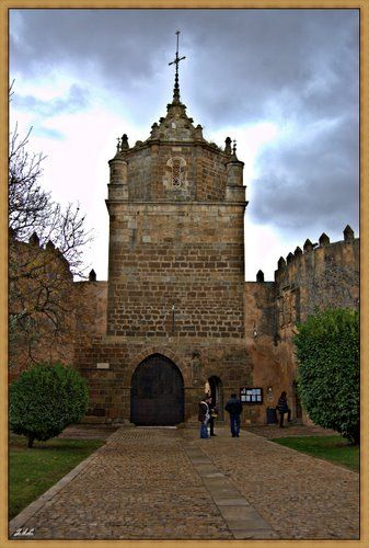 Entrance to Veruela Abbey near Vera de Moncayo - Zaragoza, Spain