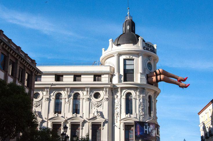 📷 @jlajaus 2017. Madrid, Teatro Calderón en la Plaza de Jacinto Benavente