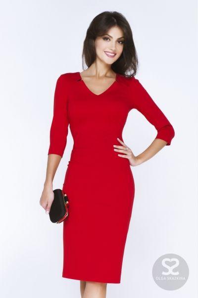 Классическое платье карандаш от дизайнера. | Skazkina