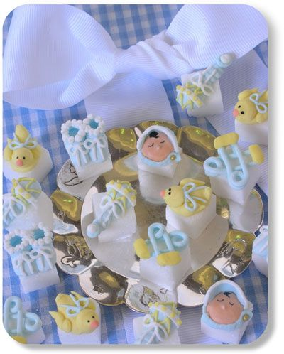 Hand Decorated Sugar Cubes