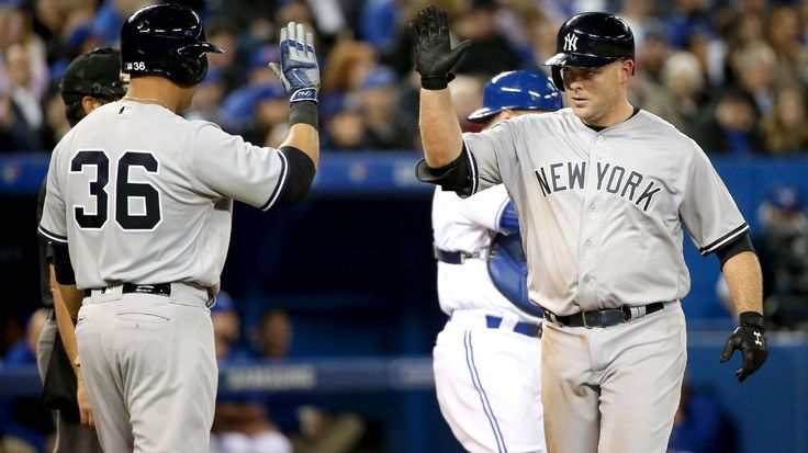 Brian McCann hit a home run for the New York Yankees on Tuesday but also injured his toe on a foul ball.