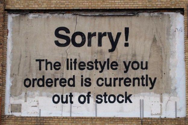 Hablando del consumismo...