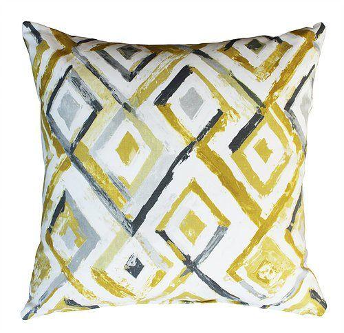 Sirroco Sulphur Scatter Cushion