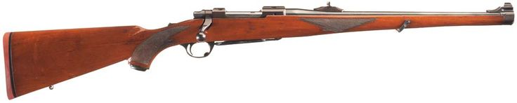 Lot #1468: Documented Historic/Notorious One-of-A-Kind Saddam Hussein's Personal Ruger M77 Bolt Action Mannlicher Rifle as Shown on Numerous Newsreels with Affidavit