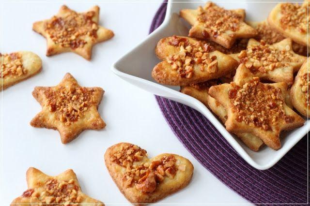 {Kekse} Cashew-Karamell-Kekse...