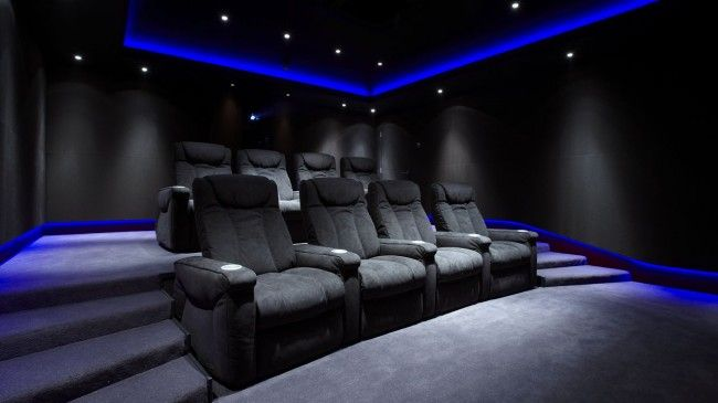 Bespoke home cinema room commissioned - Janes Architectural