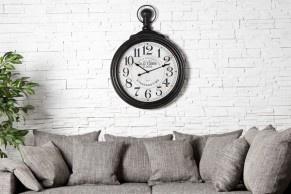 Riesige antike Wanduhr OLD TOWN 70cm Holz XL Taschenuhr Uhrmacher Schild Riesige antike Wanduhr OLD TOWN 70cm Holz XL Taschenuhr Uhrmacher Schild 99.- €