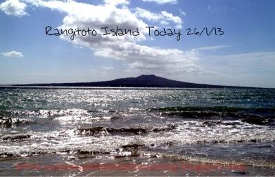 Not So Super Scottish Mummy: Rangitoto Island Today 26/1/13