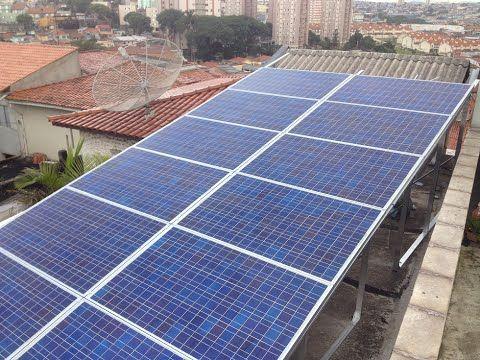 construindo painel solar fotovoltaico caseiro ...dicas e macetes parte 1 - YouTube
