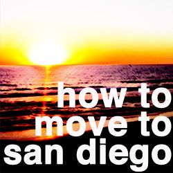 How To Move To San Diego