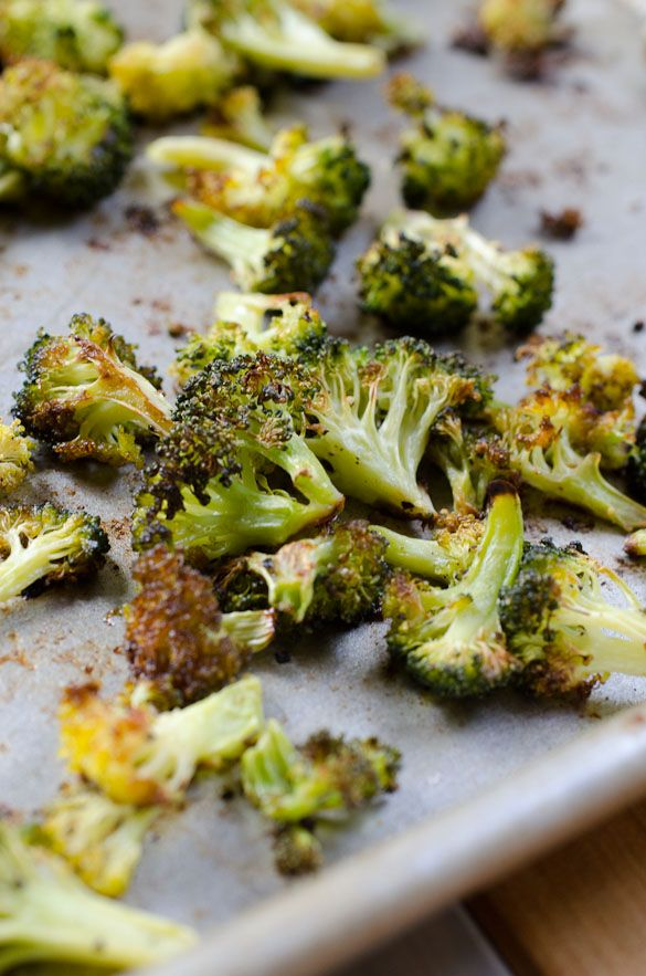 Roasted Broccoli Chips - Seeded At The Table