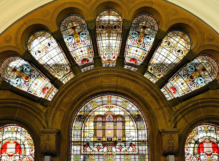 Stained glass in the QVB by Lin Zee, via 500px
