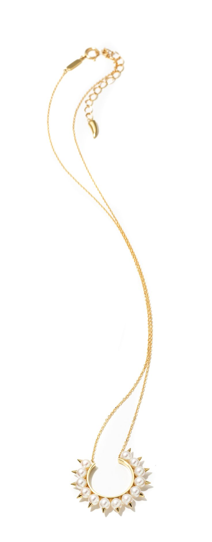 Tasaki Collection by Thakoon gold and freshwater pearl necklace