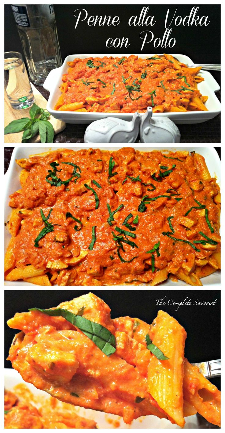 Penne alla Vodka con Pollo ~ The Complete Savorist