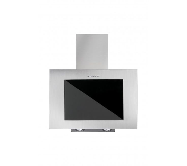 Vägghängd köksfläkt/spiskåpa FIERRA rostfritt stål 50cm/60cm80cm/90cm+svart glas
