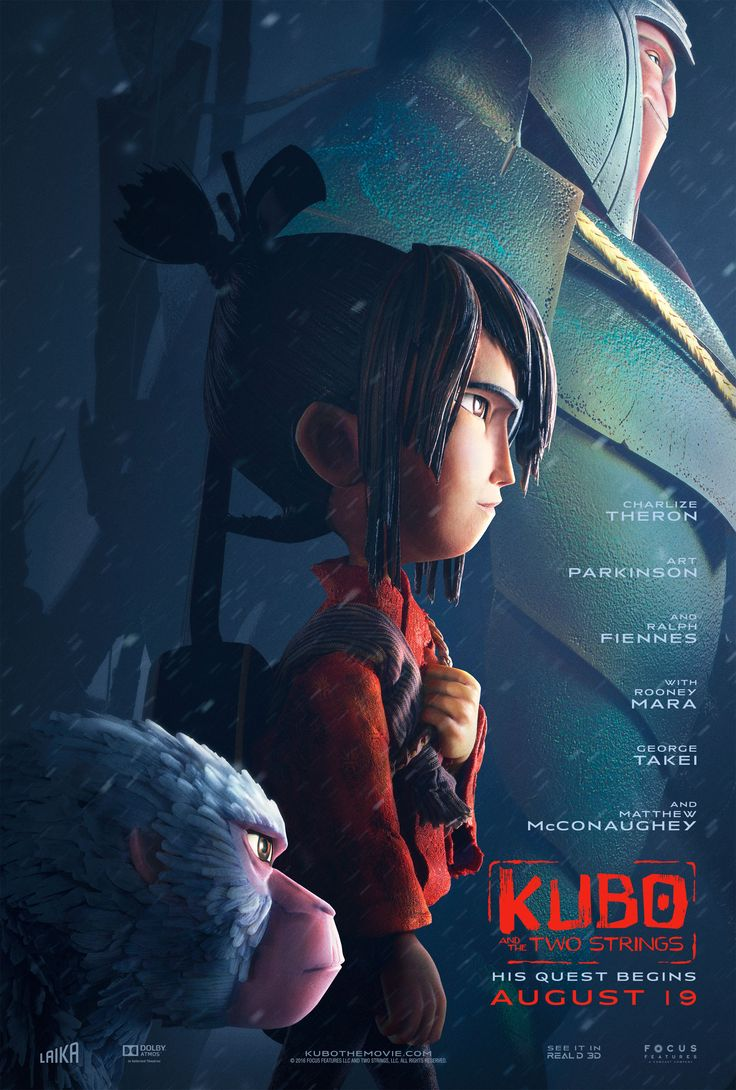 Kubo and the Two Strings HD Movie Poster