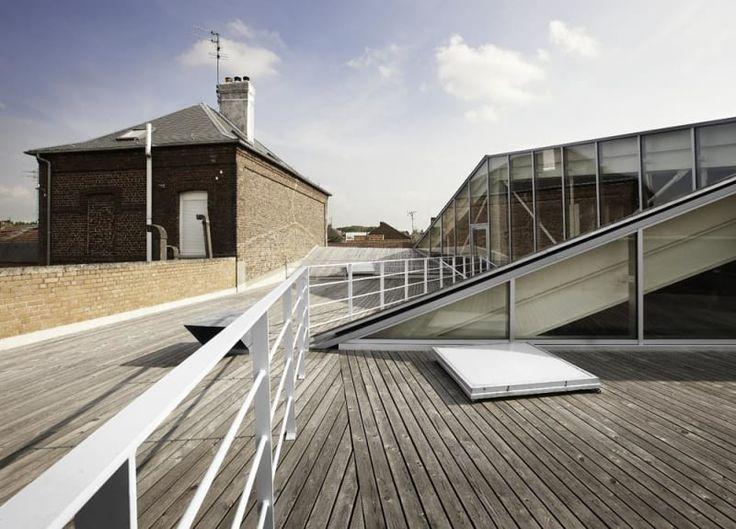 Tank Architectes, Julien Lanoo · Mediatheque de Proville