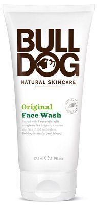 Bulldog Natural Skincare, Original Face Wash - 5.9 Oz, 3 Pack by Bulldog Natural Skincare. $35.67. How can you face your problem if your problem is your face? This isní´t the whole answer, but ití´s a start. Packed with 8 essential oils and green tea to gently cleanse your face of dirt and debris. Lather up on wet skin and rinse. Be loyal to your skin. Our products never contain parabens, sodium laureth sulfate, artificial colours, synthetic fragrances, or ingredients fro...
