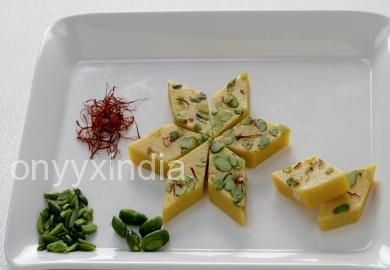 Buy Mini Kesar Katli pack of 400 gms & 800 gms at best price from our online sweets shop, get delivery in 2 business days across India. Order sweets now!