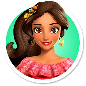 Elena of Avalor Character Nav