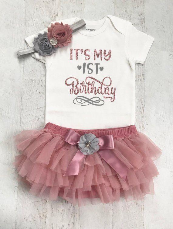Baby Glam Infant Girl Bodysuit with Pink Tutu Dress Size 9M NWT