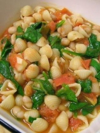 30-Minute Tuscan White Bean Soup | Recipe | Spinach, Soups and Spinach ...