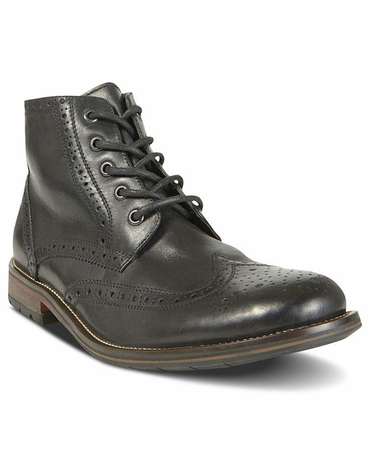 steve madden shoes evander2 wingtip boots mens shoes