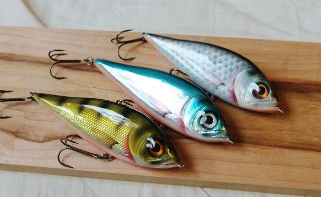 Homemade Fishing Lure Blog: Mikko Invades Britian