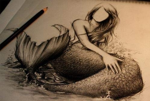 Mermaid tattoo.. how cool would this be?