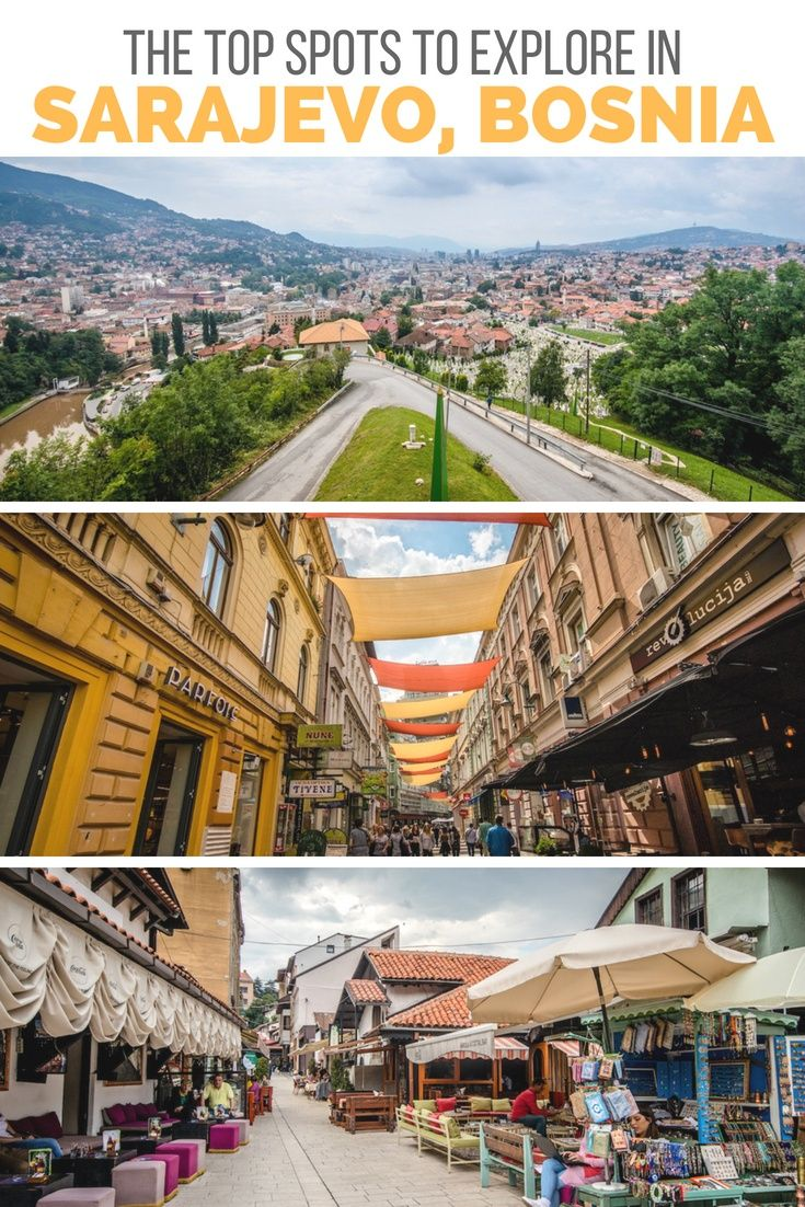 Sarajevo Sightseeing 5 Things To Do In Bosnia S Capital Travel Through Europe Balkans Travel Europe Summer Travel