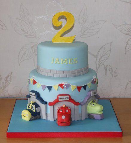 Like this Chuggington cake