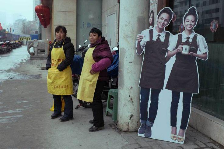 Un photographe Chinois capture ces moments si spécifiques qui font les grandes images. Tao Liu