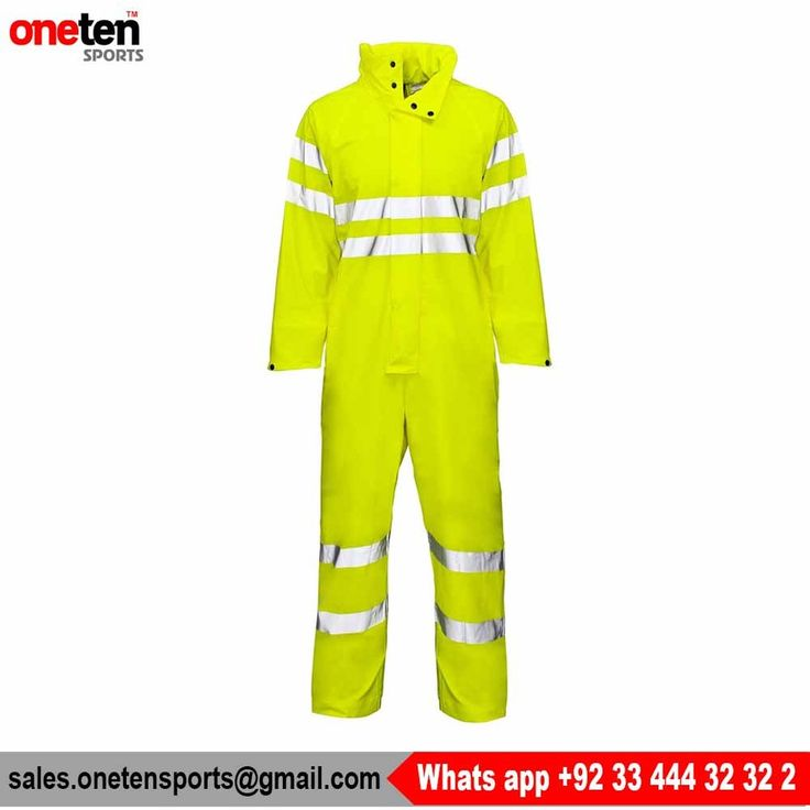 Reflective Coverall hi vis safety workwear