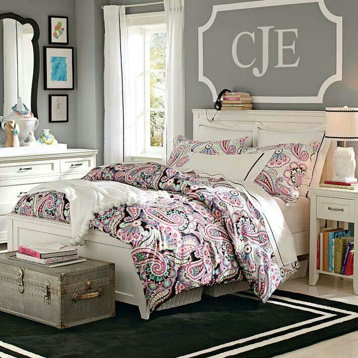Pottery Barn Teen Teen bedroom Pinterest Initials