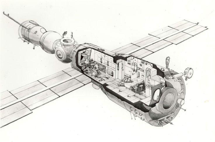 интерьеры космических советских кораблей - Google Search