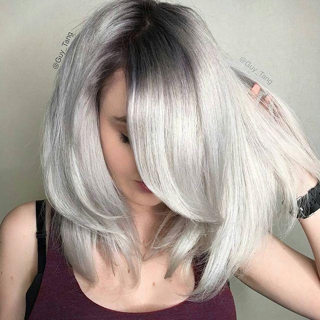 Cabelo Platinado. Cabelo descolorido. Platinum hair. Short hair. #hair #cabelo #cabelodescolorido Pinterest: @framboesablog
