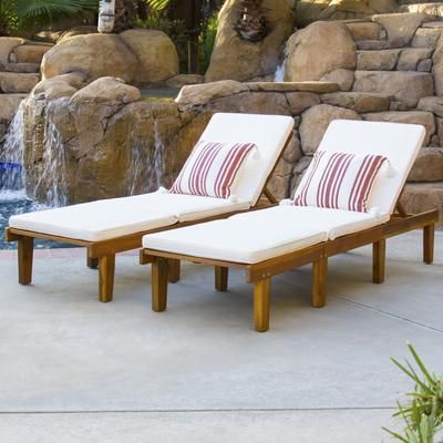 Best 25 acacia wood furniture ideas on pinterest for Acacia wood chaise lounge