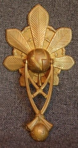 1930'S RAREST ART DECO GILDED BRONZE DOOR KNOCKER | eBay