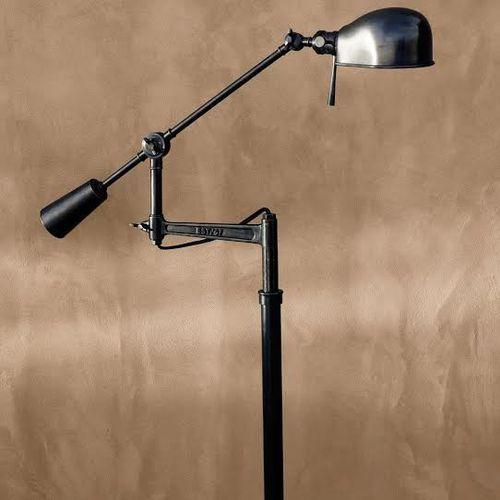 floor lamps spots floors lampbronz rl67 boom style lamps capture. Black Bedroom Furniture Sets. Home Design Ideas