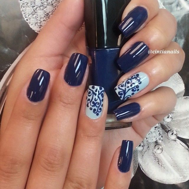 Instagram by _cintianails #nails #nailart #naildesigns