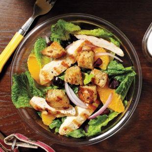 Fresh Orange Chicken Salad
