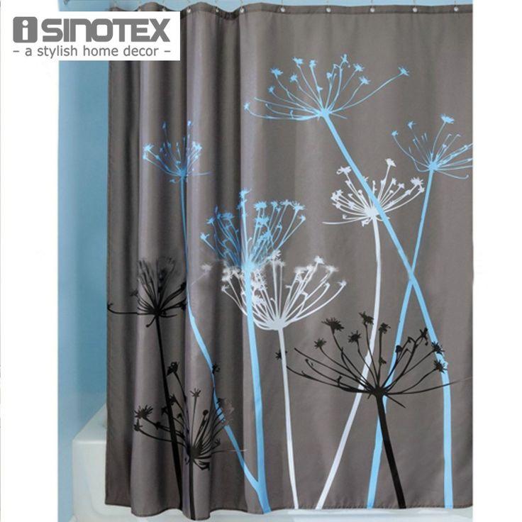 Polyester Dandelion Pattern Bath Room Shower Curtains Waterproof Fabric Bathing Curtains 180*180cm/70.8''*70.8'' - ICON2 Luxury Designer Fixures  Polyester #Dandelion #Pattern #Bath #Room #Shower #Curtains #Waterproof #Fabric #Bathing #Curtains #180*180cm/70.8''*70.8''