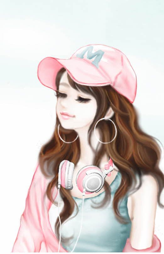 Cartoon Cute Korean