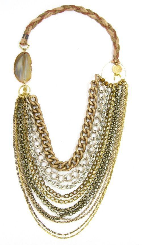 Desert Chain Statement necklace