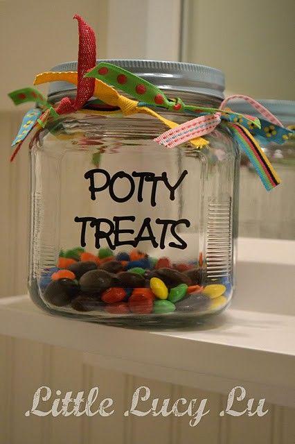 DIY potty training charts & rewards =)