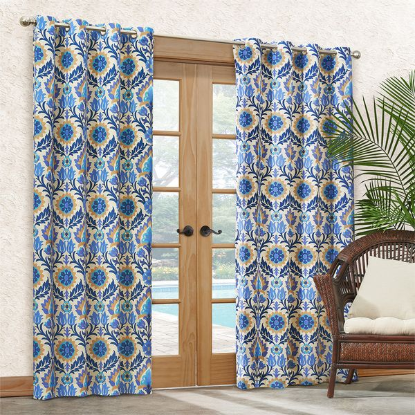 waverly santa maria curtain panel