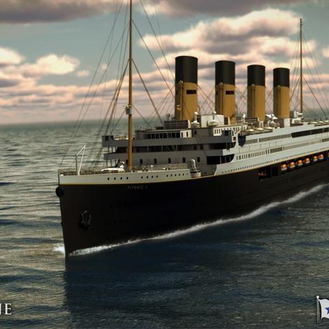 Visuals of Titanic II