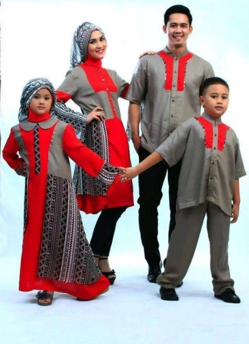 model baju couple keluarga