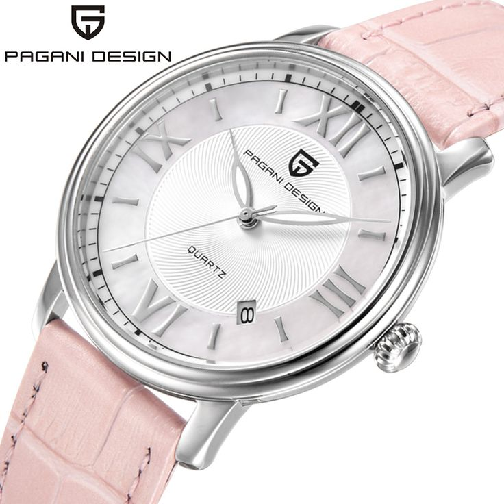 Pagani Design Ladies Fashion Quartz Watch Women Leather Casual Dress Women's Watches reloje mujer 2017 New montre femme. Yesterday's price: US $124.00 (102.09 EUR). Today's price: US $24.80 (20.42 EUR). Discount: 80%.
