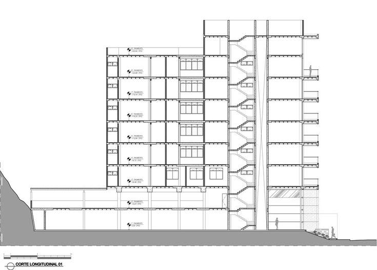 Edificio de Viviendas Maiorca,Sección 1